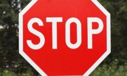 4 Reasons You Should Actually Stop at Stop Signs