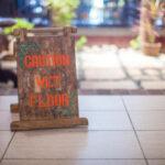 wet floor sign: Lorenzo & Lorenzo's Premises Liability Blog