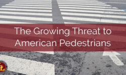 Pedestrian Fatalities Hit 30-Year High